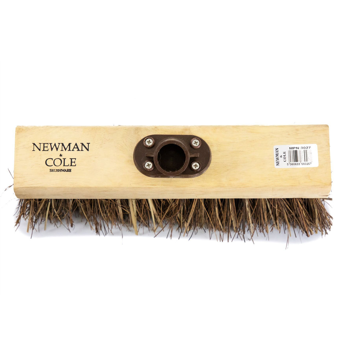 Newman And Cole 13 Quot Bass Amp Cane Flat Broom Head With