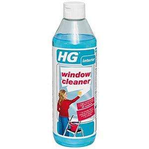 HG Window Cleaner - Professional Window Cleaner Concentrate No Streaks Liquid - The Dustpan and Brush Store