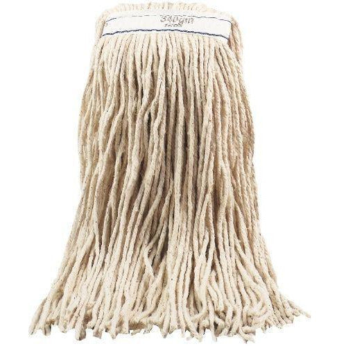 450g 16oz Cotton Kentucky Mop Head with Cut Ends - The Dustpan and Brush Store