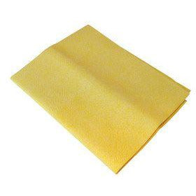 Window Cleaners Chamois Scrim Cloth, Synthetic Chamois 40cm x 30cm - The Dustpan and Brush Store