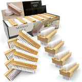 Newman and Cole Wooden Nail Brush - Box of 12