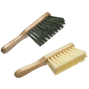Stiff and Soft Hand Brush Deal Varnished Banister Brush Wooden Stock - The Dustpan and Brush Store