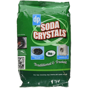 Soda Crystals 1KG Bag - The Dustpan and Brush Store