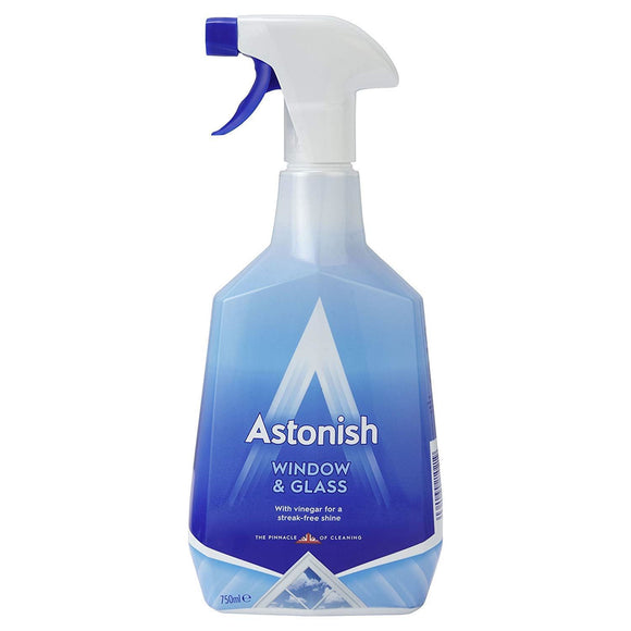 Astonish Window & Glass Cleaner 750ml - The Dustpan and Brush Store