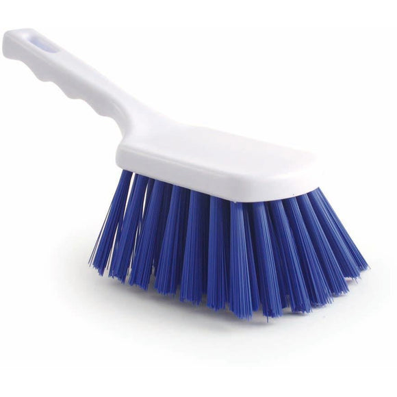 Blue Stiff Churn Brush Colour Coded Hygiene Pot Scrub Brush