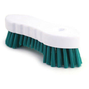 Colour Coded Double Winged Scrubbing Brush Green