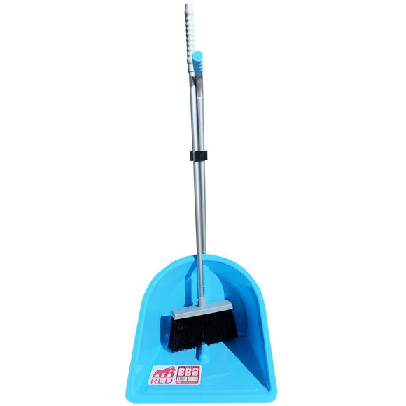 Long Handled Outdoor Dustpan and Brush, Garden Scoop Long Handled and Broom