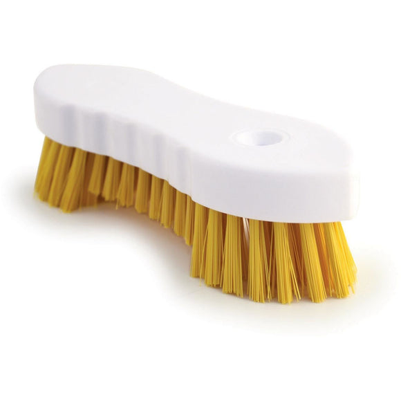 Yellow Scrubbing Brush Food Hygiene Stiff Double Winged Floor Scrub Hand Deck Brush