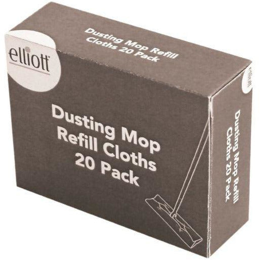 Elliot Vileda Floor Duster Flat Floor Mop Refill Cloths - The Dustpan and Brush Store