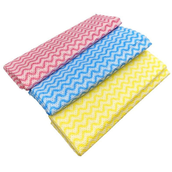 Large Fabric Multipurpose Cleaning Cloths Pack of 6