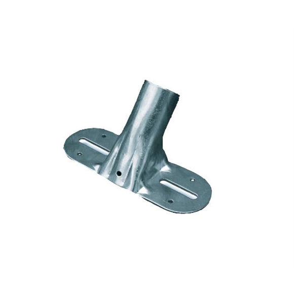 Large Metal Broom Socket Bracket Connector for Platform and Yard Brushes - The Dustpan and Brush Store