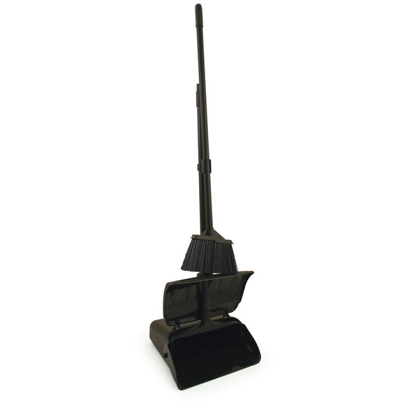 Long Handled Dustpan and Brush with Wheels - Self Closing Long Handled Dustpan and Brush - The Dustpan and Brush Store
