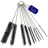 Kettle Spout Brush Teapot Nozzle Brush Set Bottle Tube Brush Pipe Cleaner Glasses Straw Coffee Machine Cleaning Brushes - 10 Pack Assorted Sizes - The Dustpan and Brush Store