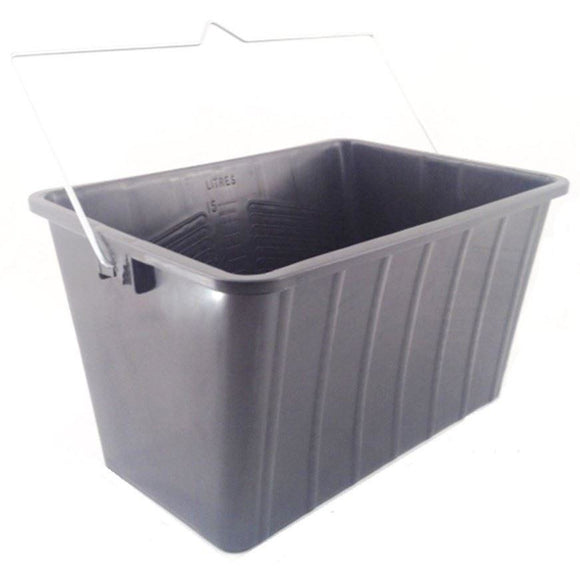 15L Paint / Window Cleaners Rectangle Bucket Skuttle