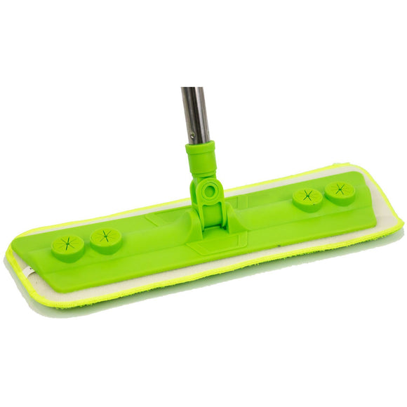 Laminate Floor Mop with Washable Microfibre Removable Cleaning Pad for Cleaner Wood Tile Hardwood and Laminate Flooring