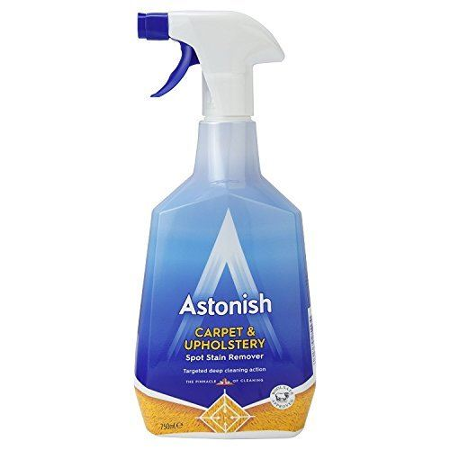 Astonish Shampoo For Carpets & Upholstery 750ml - The Dustpan and Brush Store