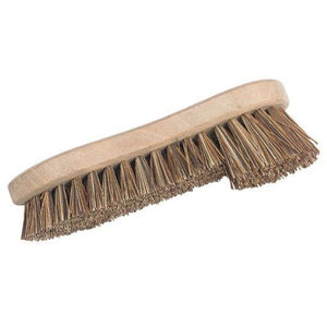 Hill Brush Single Winged Traditional Wing Stiff Wooden Scrubbing Brush - The Dustpan and Brush Store