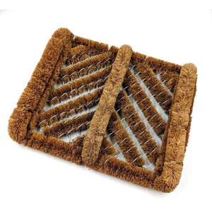 Door Mat Boot Brush Wire Scraper - The Dustpan and Brush Store