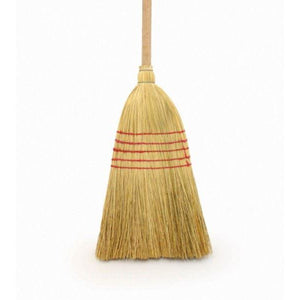 Traditional Corn broom Witches American Sweeping Natural Stable Yard Brush - The Dustpan and Brush Store