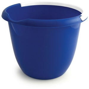 Blue Colour Coded Food Hygiene Plastic 10L Bucket and Handle - The Dustpan and Brush Store