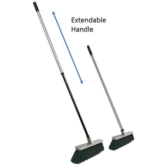 Telescopic Caravan Sweeping Brush