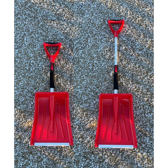 Telescopic Snow Shovel Compact Car Travel Extending Snow Scoop - The Dustpan and Brush Store