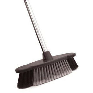 Bentley Brushware Hallmark Deluxe Indoor Chrome Sweeping Kitchen Broom Brush - The Dustpan and Brush Store