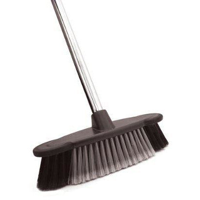 Bentley Brushware Hallmark Deluxe Indoor Chrome Sweeping Kitchen Broom Brush