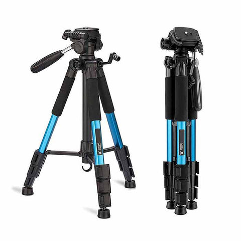 "CAMERA TRIPOD 55"" TRAVEL KIT FOR CANON NIKON SONY"