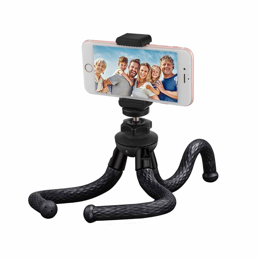 CAMERA/ PHONE TRIPOD 12' FLEXIBLE