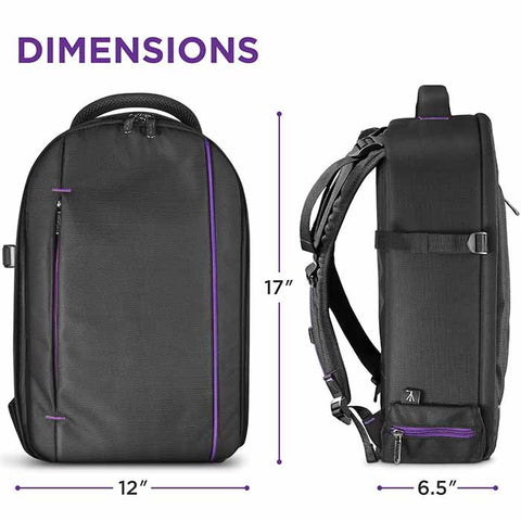 DSLR Camera and Mirrorless Backpack