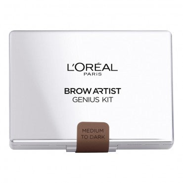 L'Oreal Brow Artist Genius Kit Medium to Dark 3 Step process for expertly designed brows