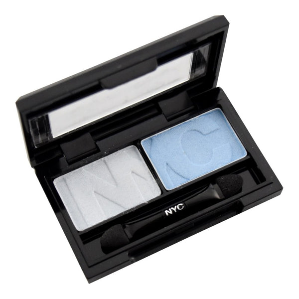 NYC DUO EYE SHADOW PERFECT TO CONTOUR OR FOR AN OMBRE EFFECT COLOURS BLEND WELL TOGETHER