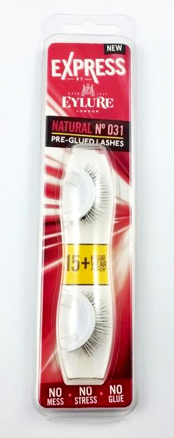 Express by Eylure Lengthen No 031 Pre-glued Lashes 15+ hour wear