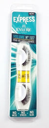 Express by Eylure Pre-glued lashes no107 thick natural looking eye lashes