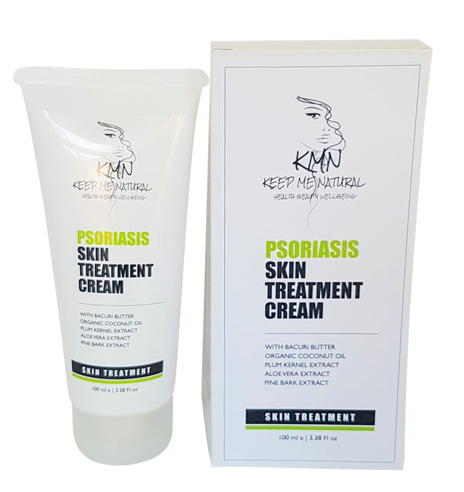 KMN 100% NATURAL PSORIASIS SKIN TREATMENT CREAM 100ML