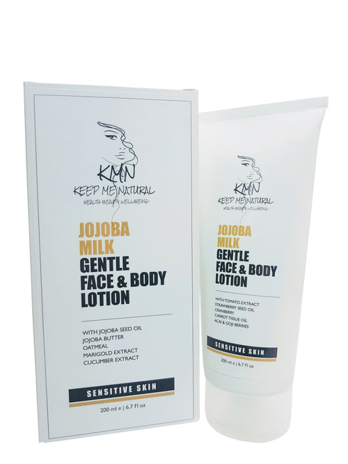 KMN Jojoba Milk Gentle Face & Body Lotion for Sensitive Skin 200ml