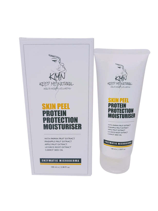 KMN 100% Natural Skin Peel Protein Protection Moisturiser 100ml