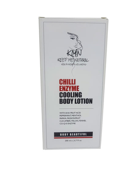 KMN 100% Natural Chilli Enzyme Gel Contour Body Wrap 200ml