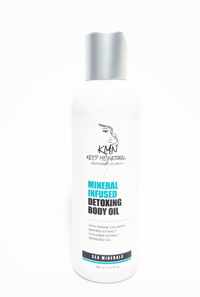 KMN 100% Natural Mineral Infused Detoxing Body Oil 200ml