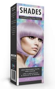SHADES OF LONDON LILAC HAZE SEMI PERMANENT HAIR COLOUR LASTS UP TO 10 WASHES UP TO 5 APPLICATIONS