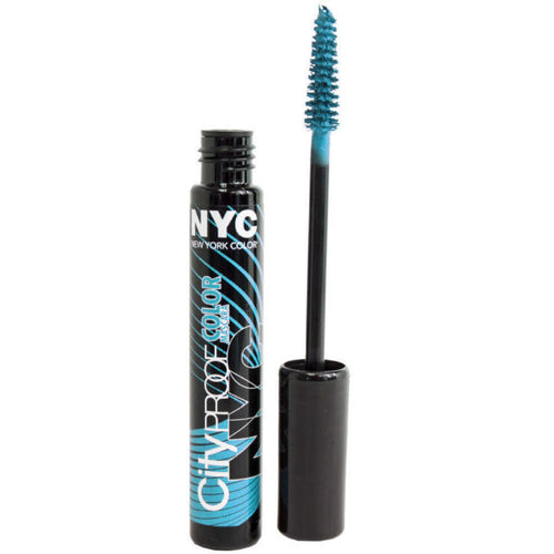NYC Turquoise Mascara perfect for special events