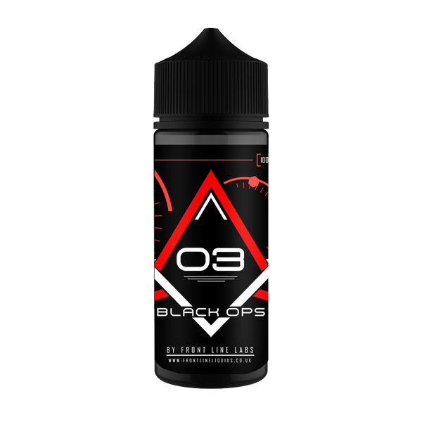 Frontline Black Ops - Strawberry Custard