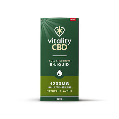 Vitality - Full Spectrum CBD E-Liquid - Natural
