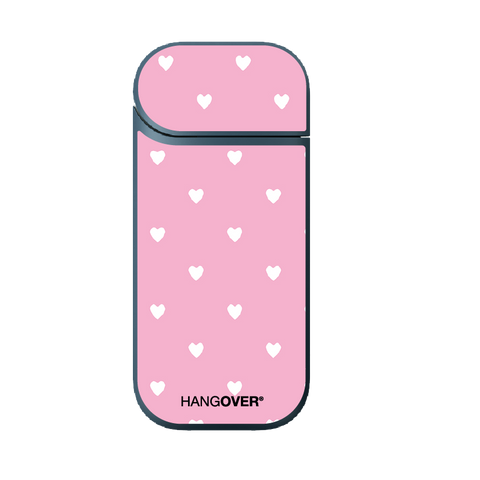 Hangover - iQOS Skin - White Hearts