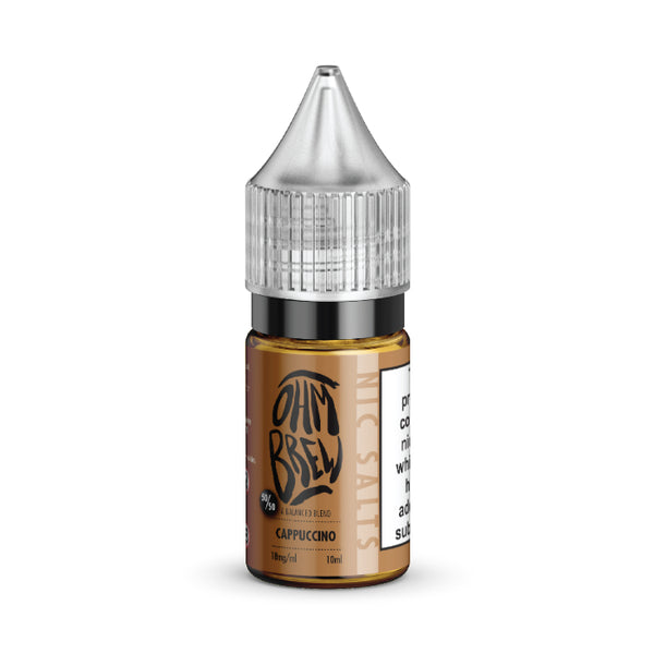 Ohm Brew - 10ml Nic Salt - Cappuccino
