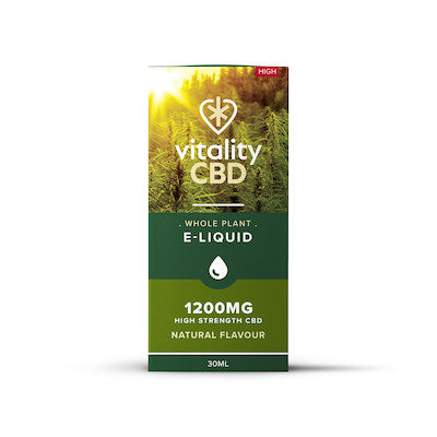 Vitality - Full Spectrum CBD E-Liquid (Whole Plant) - Natural