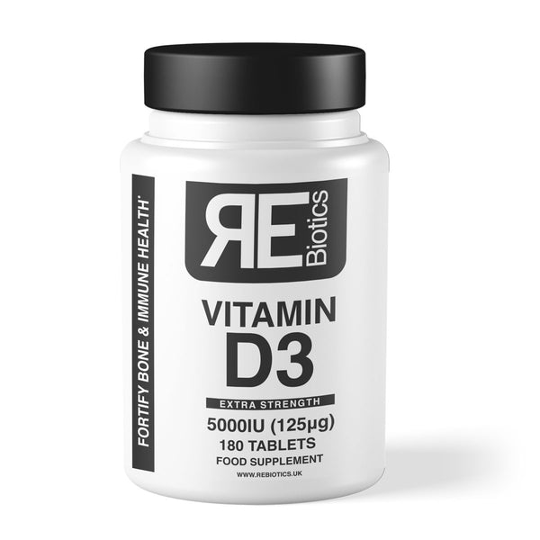 Rebiotics - Vitamin D3 5000IU
