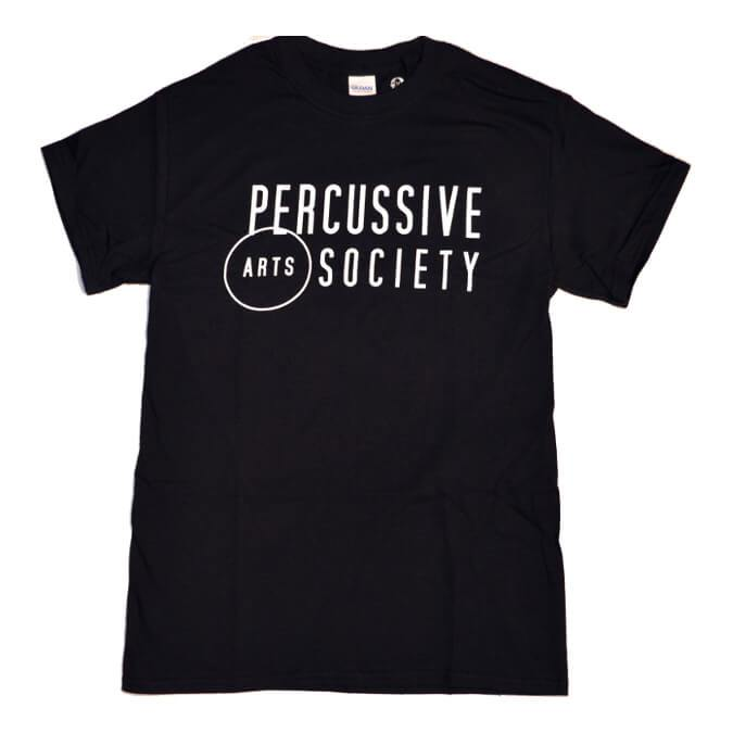 A Black t-shirt with PAS Logo