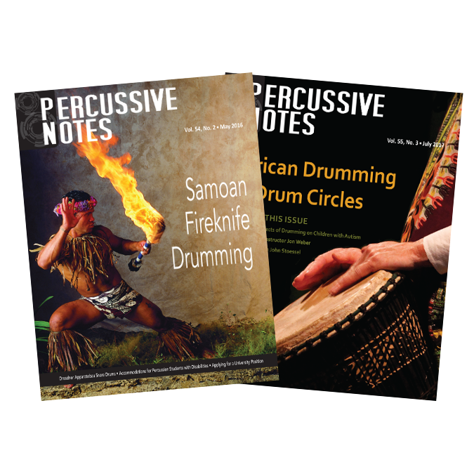 Percussive Notes Past Issues